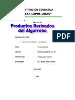 El Algarrobo y Sus Derivados - Copia (2)