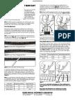 Squier setup Manual