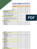 SEG QC Check List Format V1.0