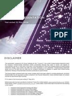 IG Group FY 2014 Investor Presentation