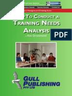 Training Needs Sample-V1