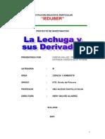 La Lechuga y Sus Derivados