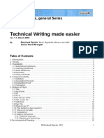 Techical Writing Made Easier