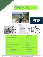 FT 2009 trek 7200 fr