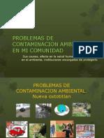 Problemas de Contaminacion Ambientalbio