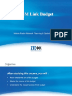 GSM Link Budget
