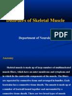 disorders of skeletal muscle