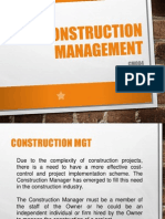 CM 004 Construction Manager