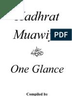 Hadhrat Muawiya RA-One Glance-Mufti Afzal Hoosen Elias