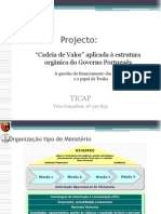 TICAP - Cadeia de Valor e a Troika