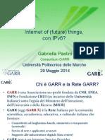Internet of (future) things, con IPv6?