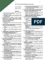 Varianta 1 Exm 22 Ianuarie 2013