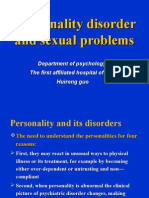 personality disorder and sexual problems