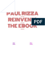 Paul Rizza Reinvents the Ebook