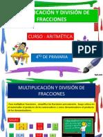 Multip Div Fracciones