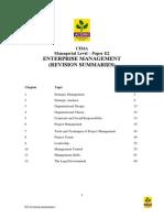 E2 Revision Summaries