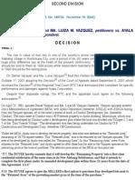 Vasquez vs Ayala Corp