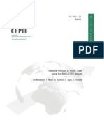 Network Analysis of World Trade