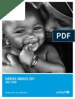 Cuentas Anuales 2011 Unicef Espana