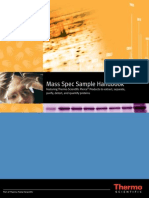 Mass Spec 2 D Sample Handbook
