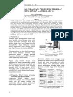 Pengaruh Tebal Coran Pada Proses Hpdc Terhadap Porositas Dengan Material Adc 12