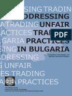 Addressing unfair trading practices in Bulgaria