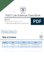 2014 YGCC Life Sciences Casebook Preview