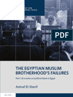 The Egyptian Muslim Brotherhood's Failures