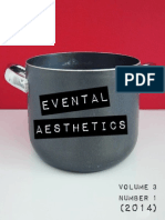 Evental Aesthetics, Vol. 3, No. 1 (2014)