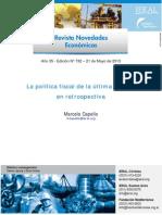 2500-La Política Fiscal de La Última Década en Retrospectiva