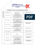 ASOVAC Regional Cronograma2
