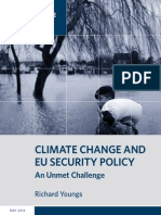 Climate Change and EU Security Policy