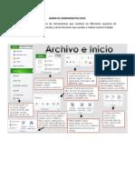 Barra de Herramientas Excel