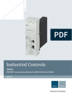 Manual SIRIUS Communication Module PROFINET en-US