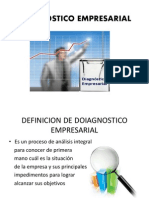 DIAGNOSTICO EMPRESARIAL 2014