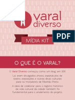 Varal Diverso Mídia Kit 2014