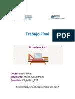 Una Propuesta Con Modelo 1 a 1 Lengua