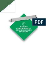 1. Marcas Comerciales y Designaciones Técnicas