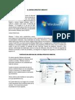 El Sistema Operativo Windows 7