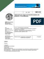 NBR 5416 Aplicação de Cargas Em Transformadores