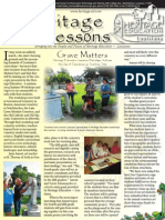 Heritage Lessons Summer 04 Newsletter