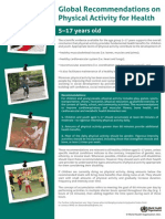 Physical Activity Recommendations 5 17years
