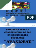 Modelo Integral de Cultura de Paz Estado de M+®xico Comisi+¦n II