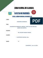 Diagnóstico Ambiental-barrio San Martin