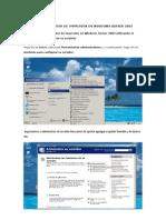 Instalar un servidor de impresión en Windows Server 2003