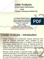 Class 6 Cluster Analysis