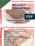 Caso Clinico Madre Bajo Peso