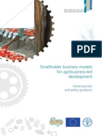 Small business models - FAO ACP