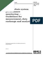 IEC61724 PV Monitoring
