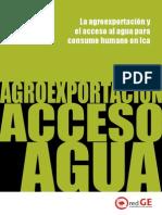 Estudio Agroexportacion Acceso Al Agua Cancino